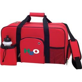 The Weekender Duffel Bag for Advertising