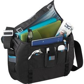 Monogrammed Thule Crossover Compu-Messenger Bag