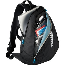 "Thule Crossover Sling 13"" Compu-Backpack Imprinted with Your Logo"