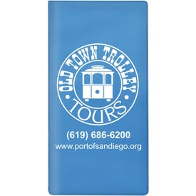 Promotional Ticket Policy Wallet for Advertising