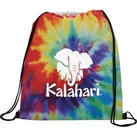 Tie Dye Drawstring Sportspack Bag