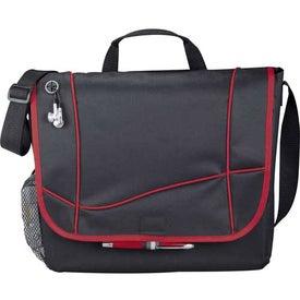 Monogrammed Tilt Messenger Bag