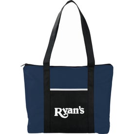 Timeline Non-Woven Zip Convention Tote Bag