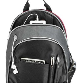 Title Track Backpack for Marketing