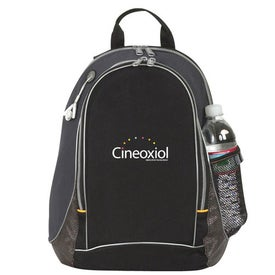Imprinted Title Track Backpack