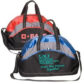 Monogrammed Titleholder Gym/Duffel Bag