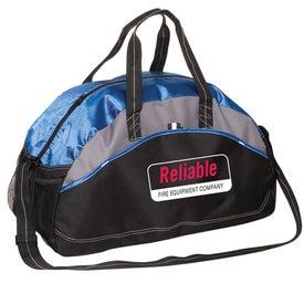 Printed Titleholder Gym/Duffel Bag