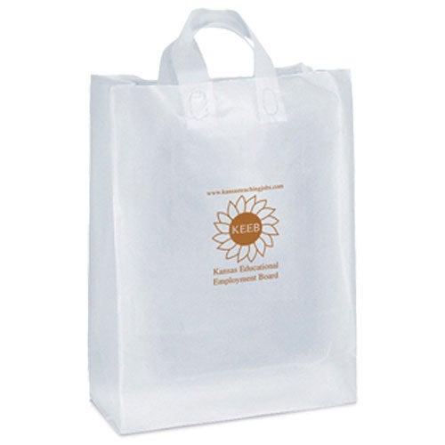 Tootsie Frosted Shopper Bag