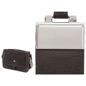 Company Torino Soft Lichee Leather Briefcase