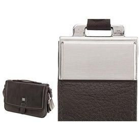 Company Torino Soft Lichee Leather Briefcase