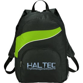 Tornado Backpack Imprinted with Your Logo
