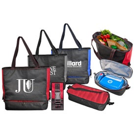 Monogrammed Tote and Lunch Bag Combo