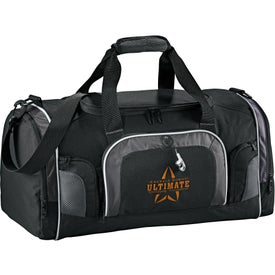 "Branded Touring 22"" Deluxe Golf Duffel"