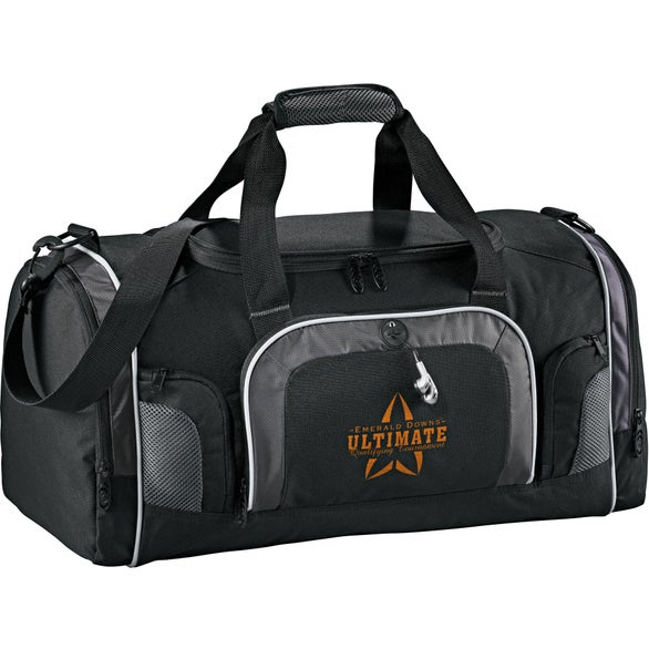 Black Touring Deluxe Golf Duffel