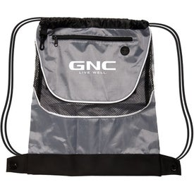 Tournament Nylon Drawstring Backpack for Promotion