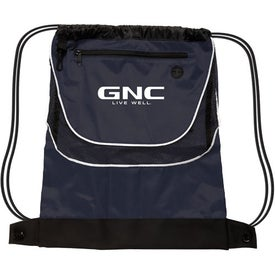 Tournament Nylon Drawstring Backpack Giveaways