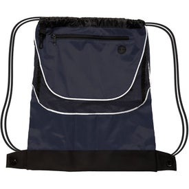 Tournament Nylon Drawstring Backpack for Your Church