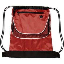 Promotional Tournament Nylon Drawstring Backpack