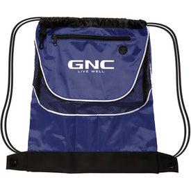 Tournament Nylon Drawstring Backpack for Advertising