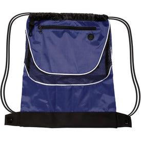 Advertising Tournament Nylon Drawstring Backpack
