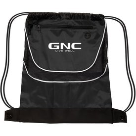 Tournament Nylon Drawstring Backpack