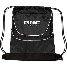 Company Tournament Nylon Drawstring Backpack