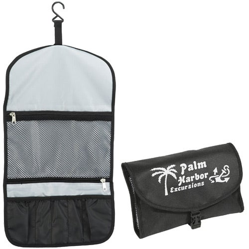 Black Tradewinds Travel Toiletry Bag