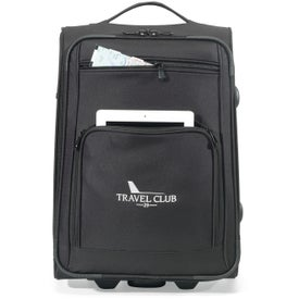 Transit Wheeled Upright Carry-On Bag for Advertising