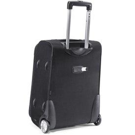 Advertising Transit Wheeled Upright Carry-On Bag