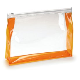Branded Transparent Toiletry Bag