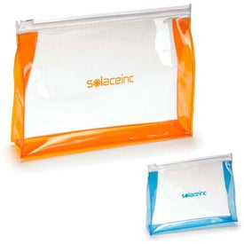 Transparent Toiletry Bag for Marketing