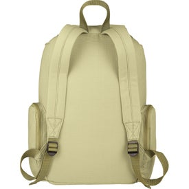 Branded Trash Talking Recycled Backpack