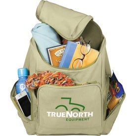 Trash Talking Recycled Backpack for Your Organization