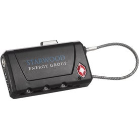Travel Sentry Luggage Tag and Lock
