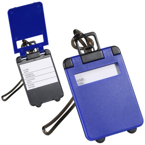 Blue Travel Tote Luggage Tag