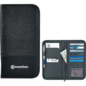 Euro Travel Wallet With Zipper for your School