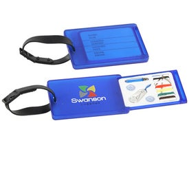 Travel Aid Luggage Tag and Sewing Kit