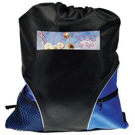 Monogrammed Traveler Back Pack