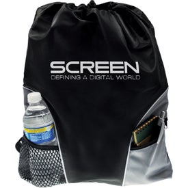 Traveler Back Pack Imprinted with Your Logo