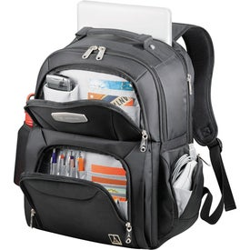 Monogrammed TravelPro Checkpoint Friendly Compu Backpack