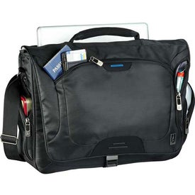 Customized Travelpro TravelSmart TSA Compu-Messenger