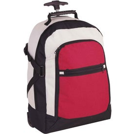 Tri Color Rolling Rucksack with Your Logo