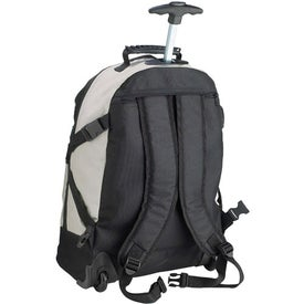 Tri Color Rolling Rucksack for your School