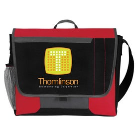 Tri-Pocket Flap Messenger for your School