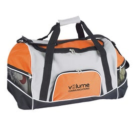 Tri Pocket Sport Duffel for Your Company