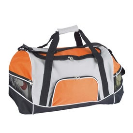 Tri Pocket Sport Duffel with Your Logo