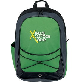 Imprinted Tri Tone Sport Backpack