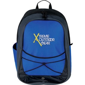 Tri Tone Sport Backpack Imprinted with Your Logo