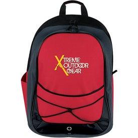 Monogrammed Tri Tone Sport Backpack