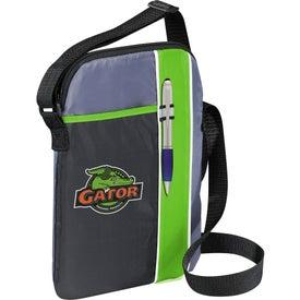 Printed Tribune Tablet Bag